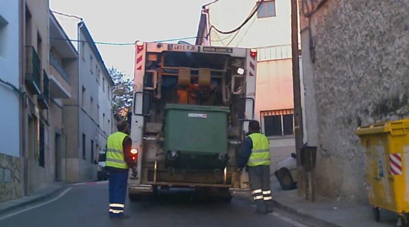 Cobro de recibos por prestación del servicio de recogida de basuras